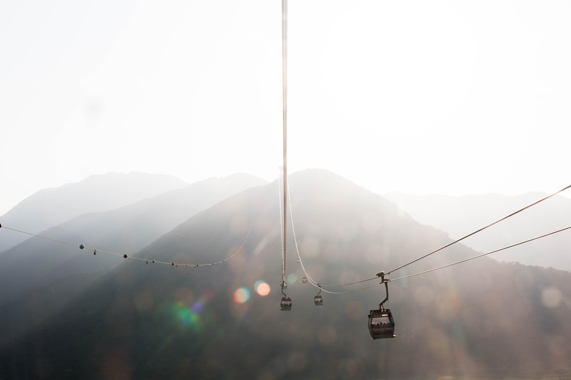 Cable Car,Mountain,Atmosphere