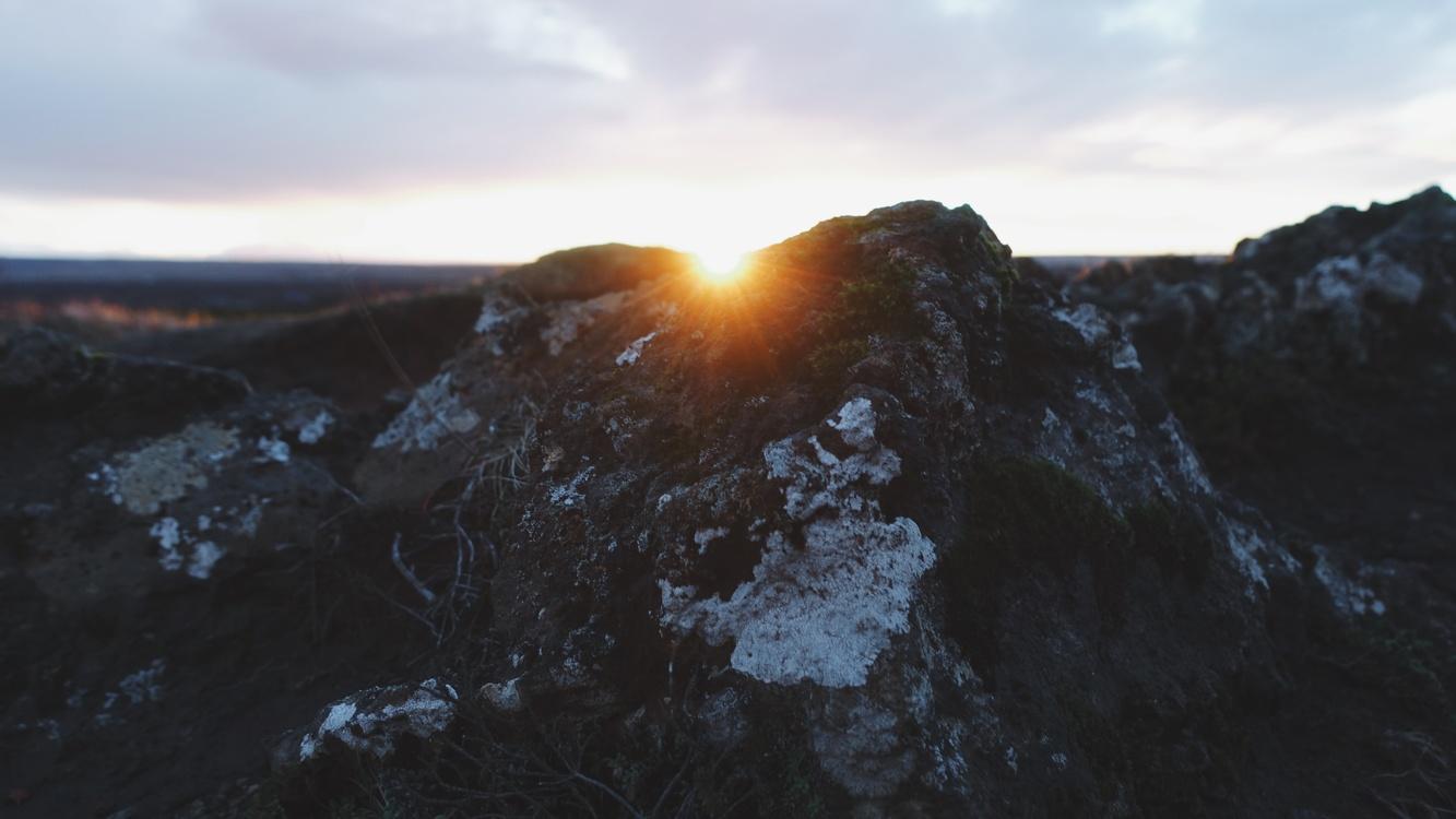 Lava Plain,Mountain,Atmosphere