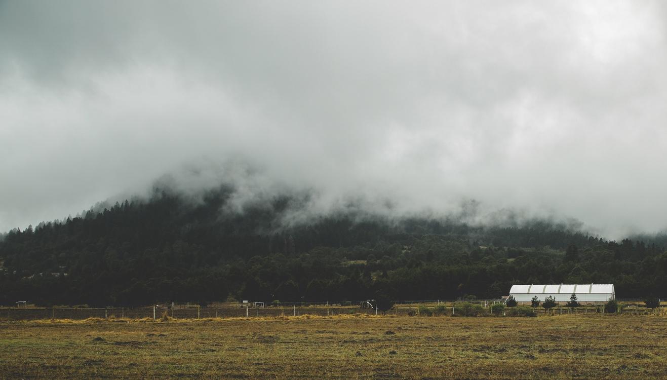 Cloud Rural area Landscape Sky Mist