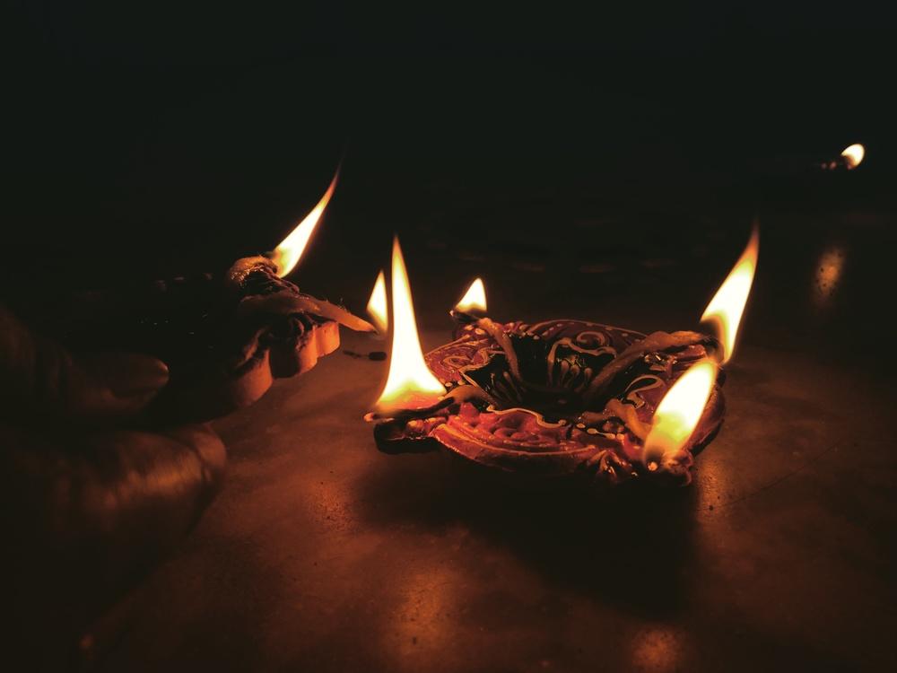 Darkness,Fire,Diwali