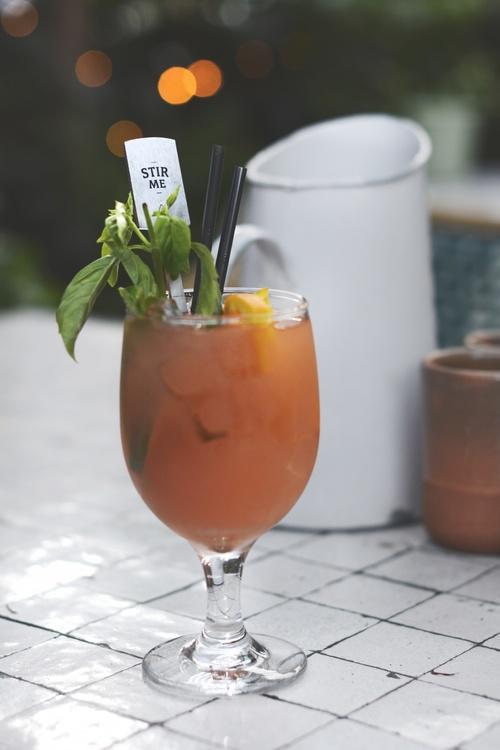 Non Alcoholic Beverage,Bellini,Cocktail