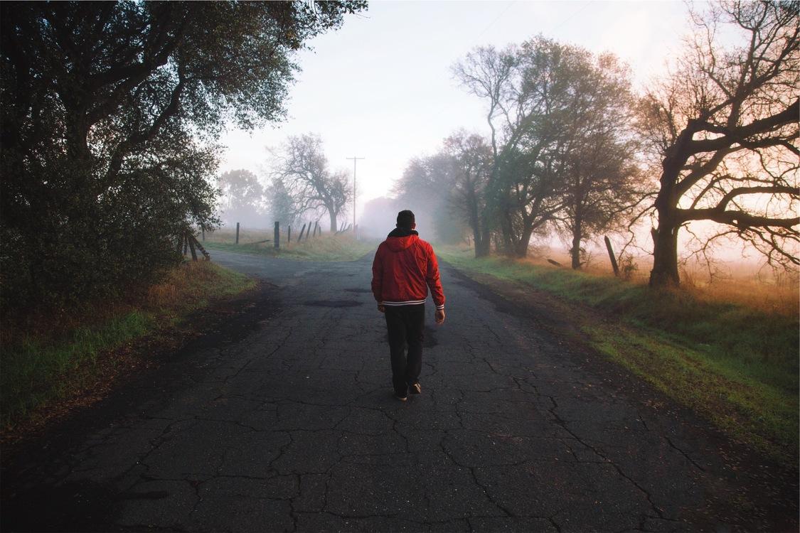 Walking,Phenomenon,Asphalt