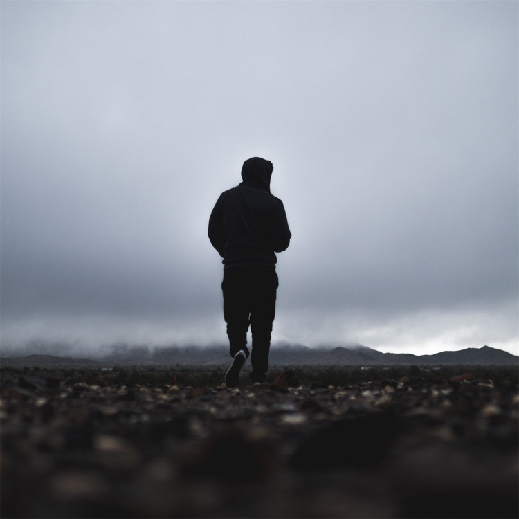 Standing,Atmosphere,Silhouette
