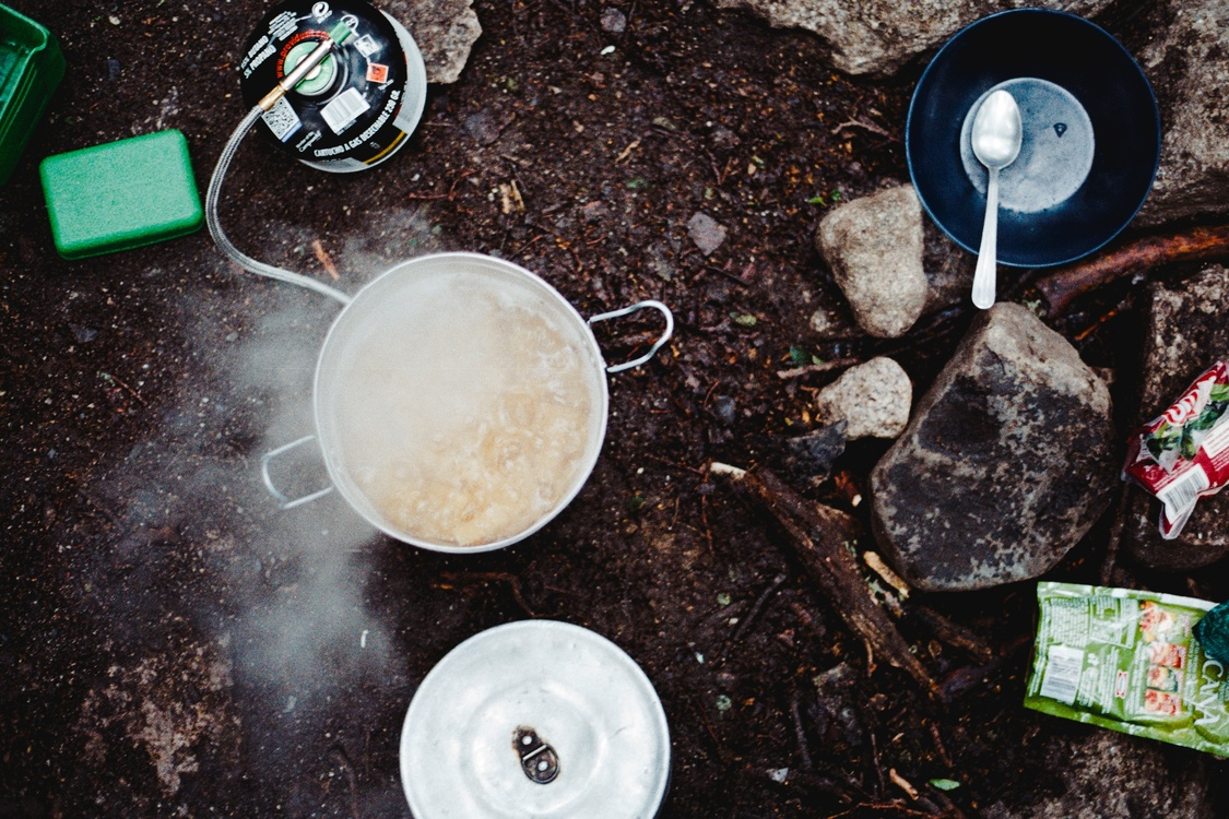Soil,Litter,Camping Food
