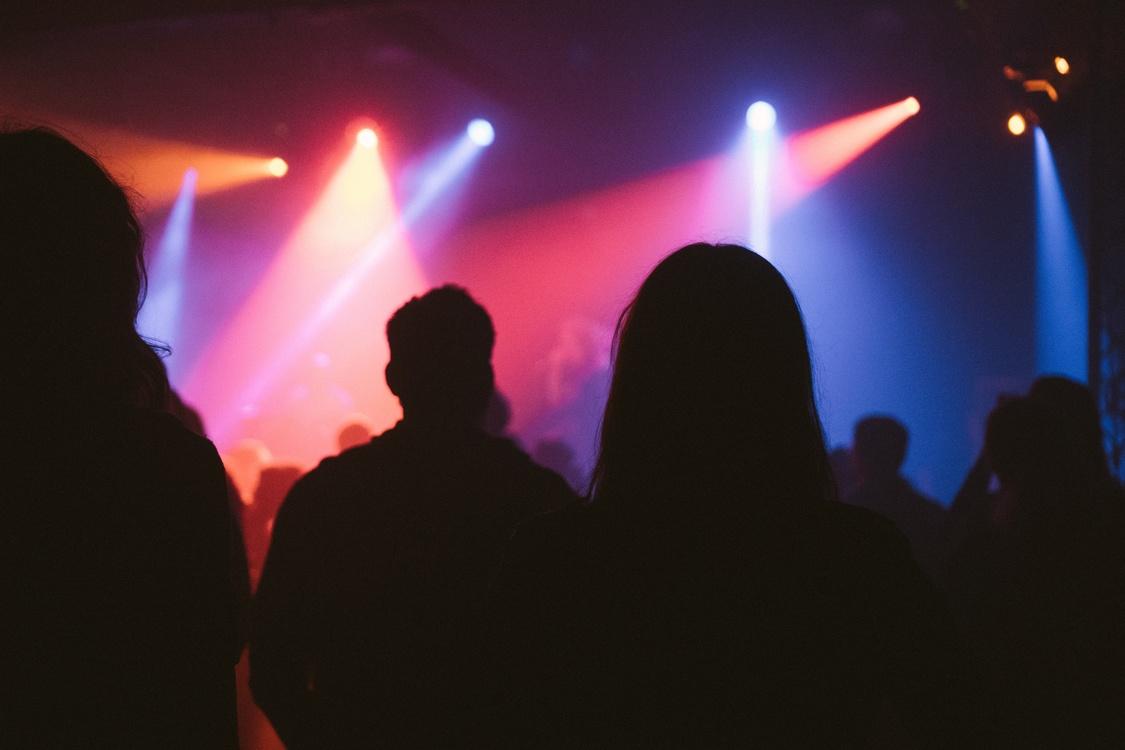 Disco,Rock Concert,Darkness