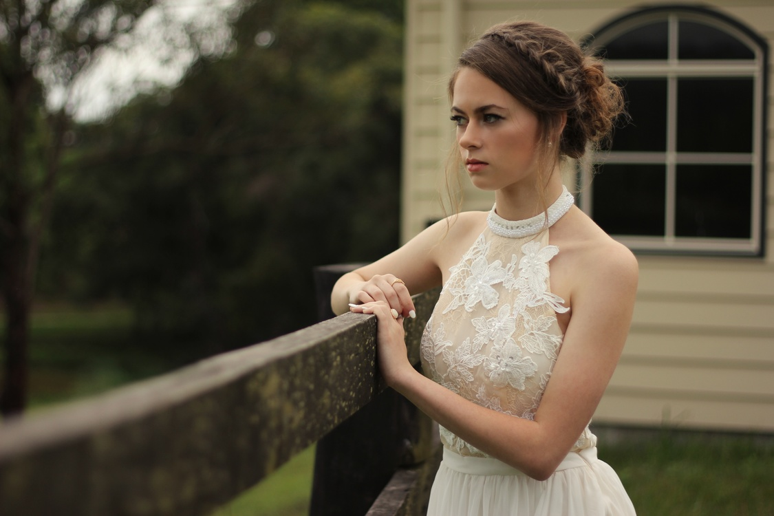 Ceremony,Gown,Hairstyle