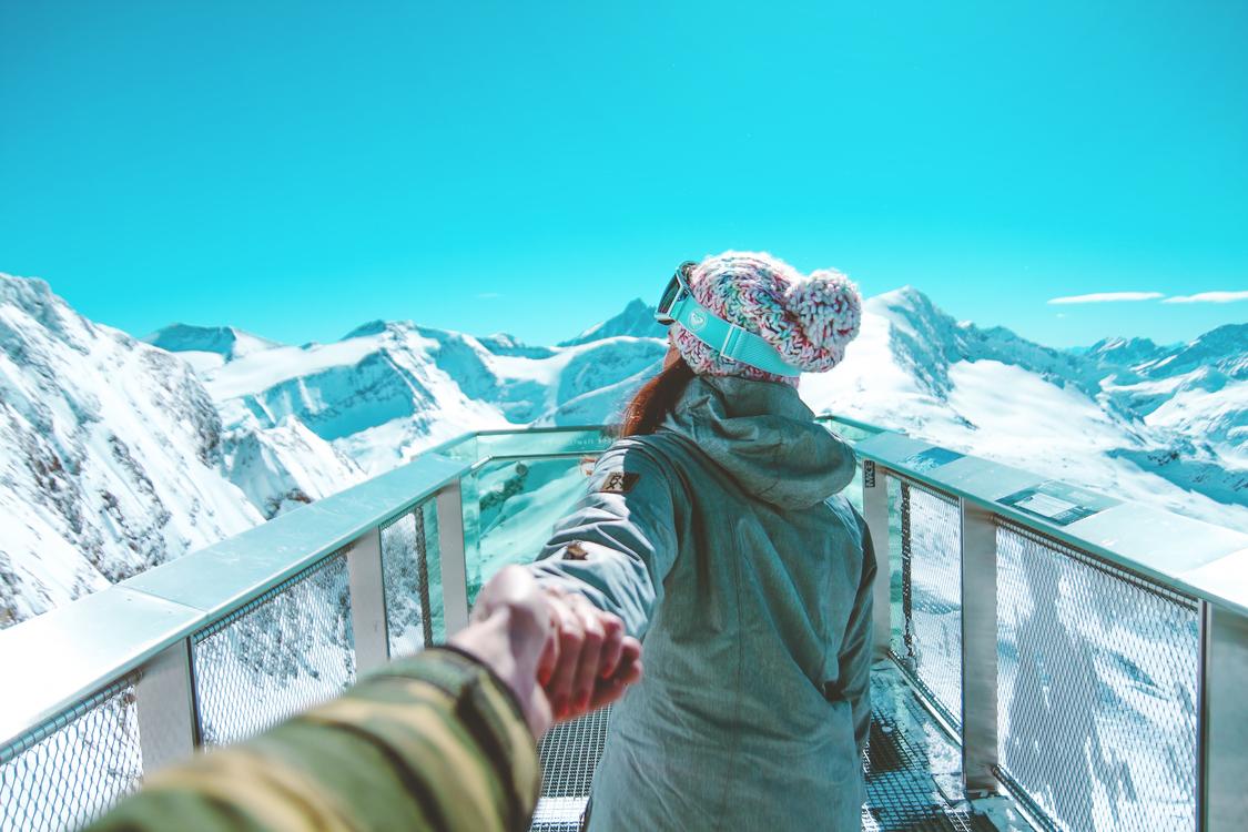 Mountain,Mountain Range,Winter