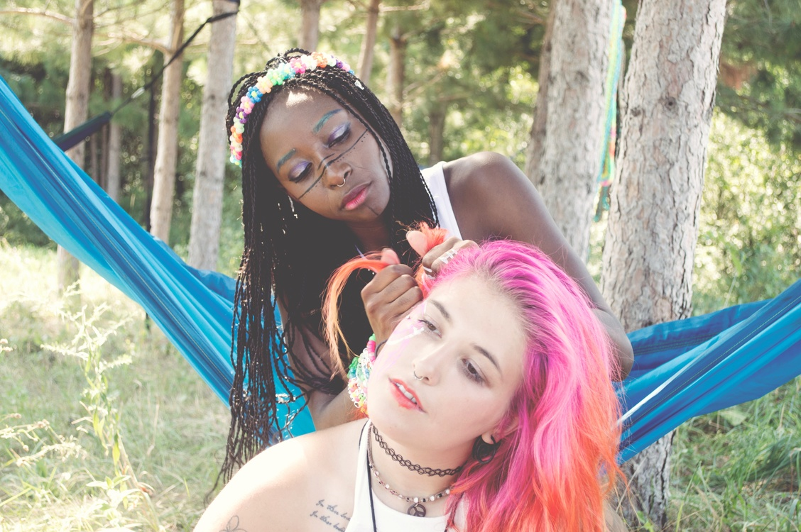 Summer,Hairstyle,Black Hair