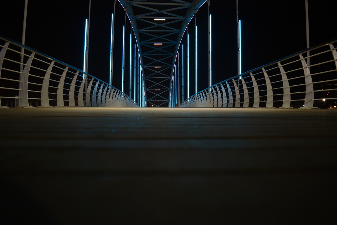 Bridge,Atmosphere,Symmetry
