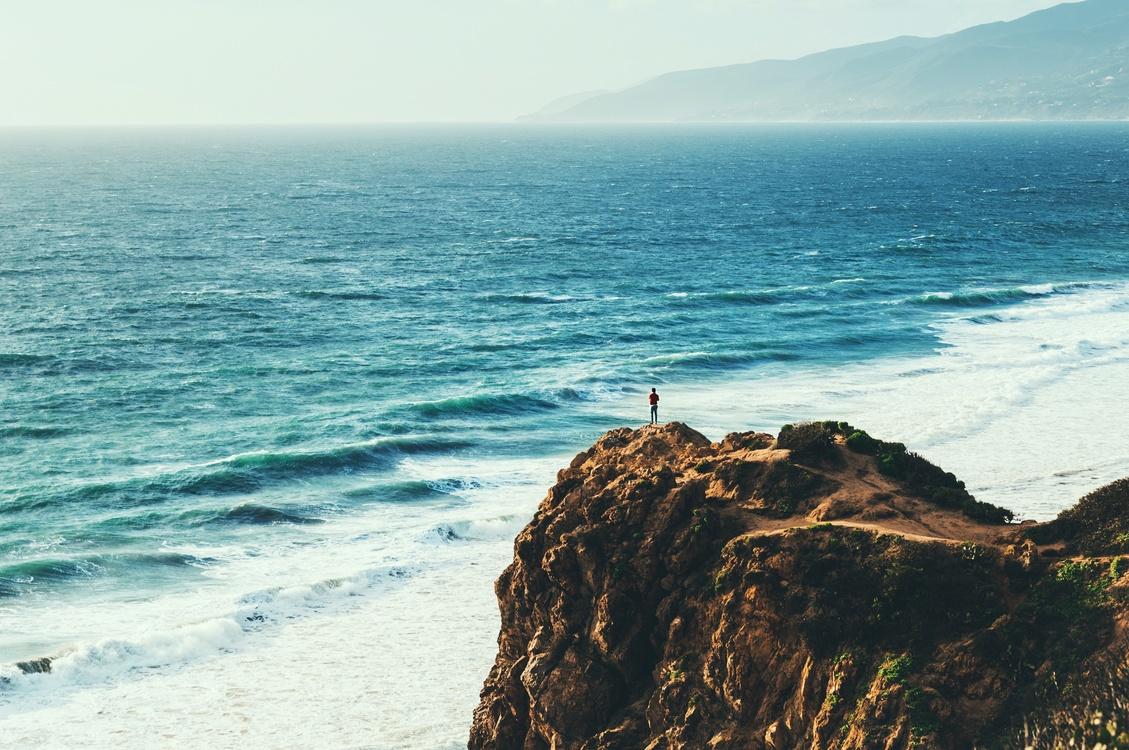 pacific ocean malibu desktop wallpaper sea free images download