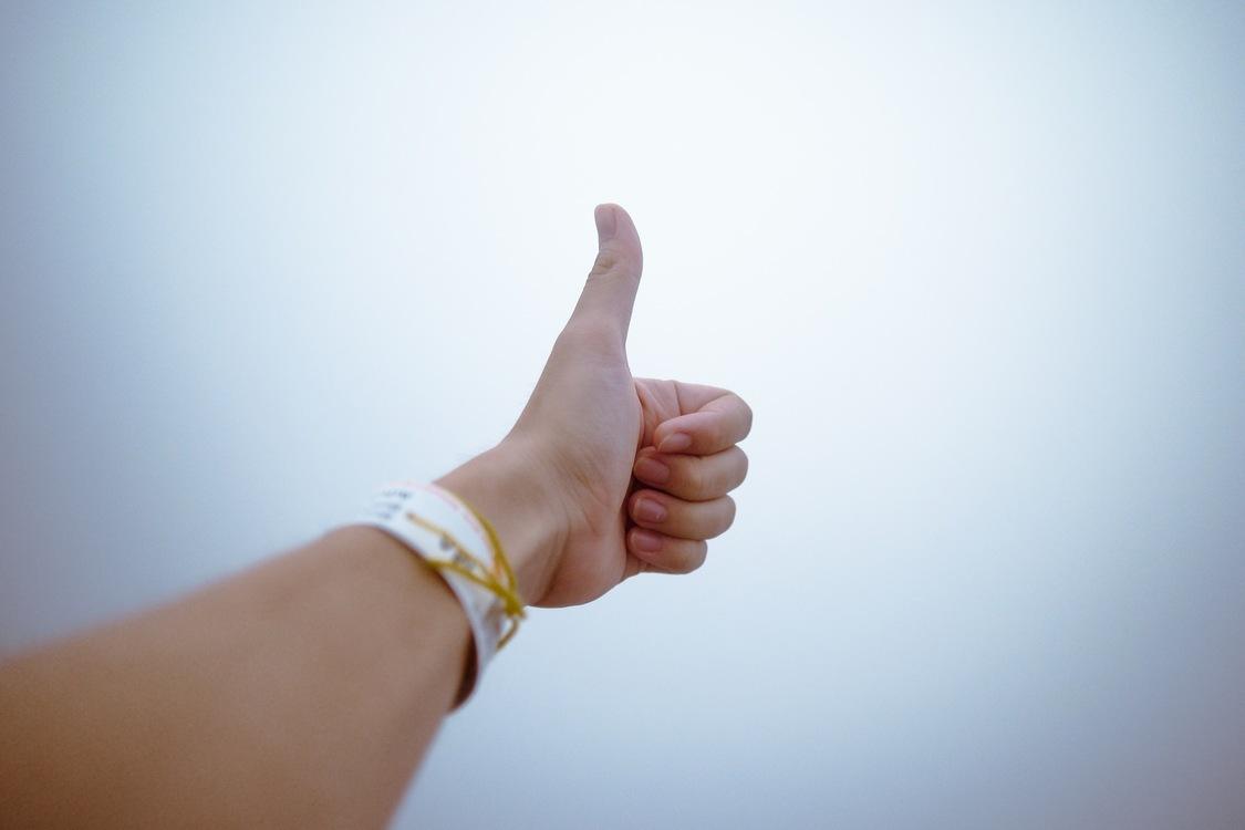 Thumb,Sign Language,Sky