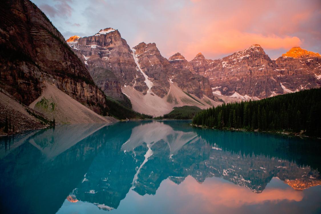 Glacial Lake,Terrain,Mount Scenery