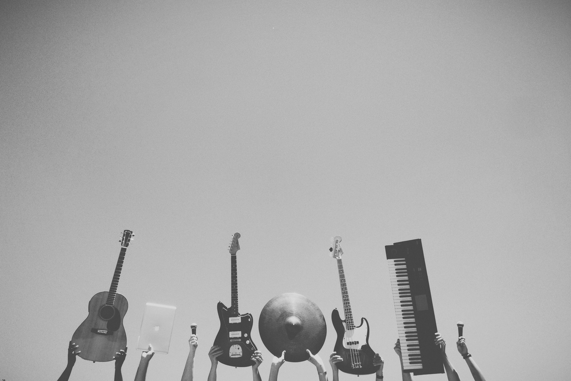 Microphone,Musical Instrument,Monochrome Photography