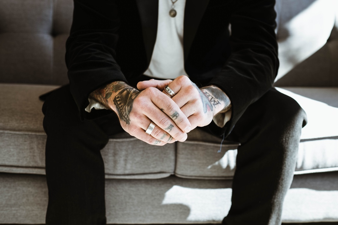 Formal Wear,Gentleman,Hand
