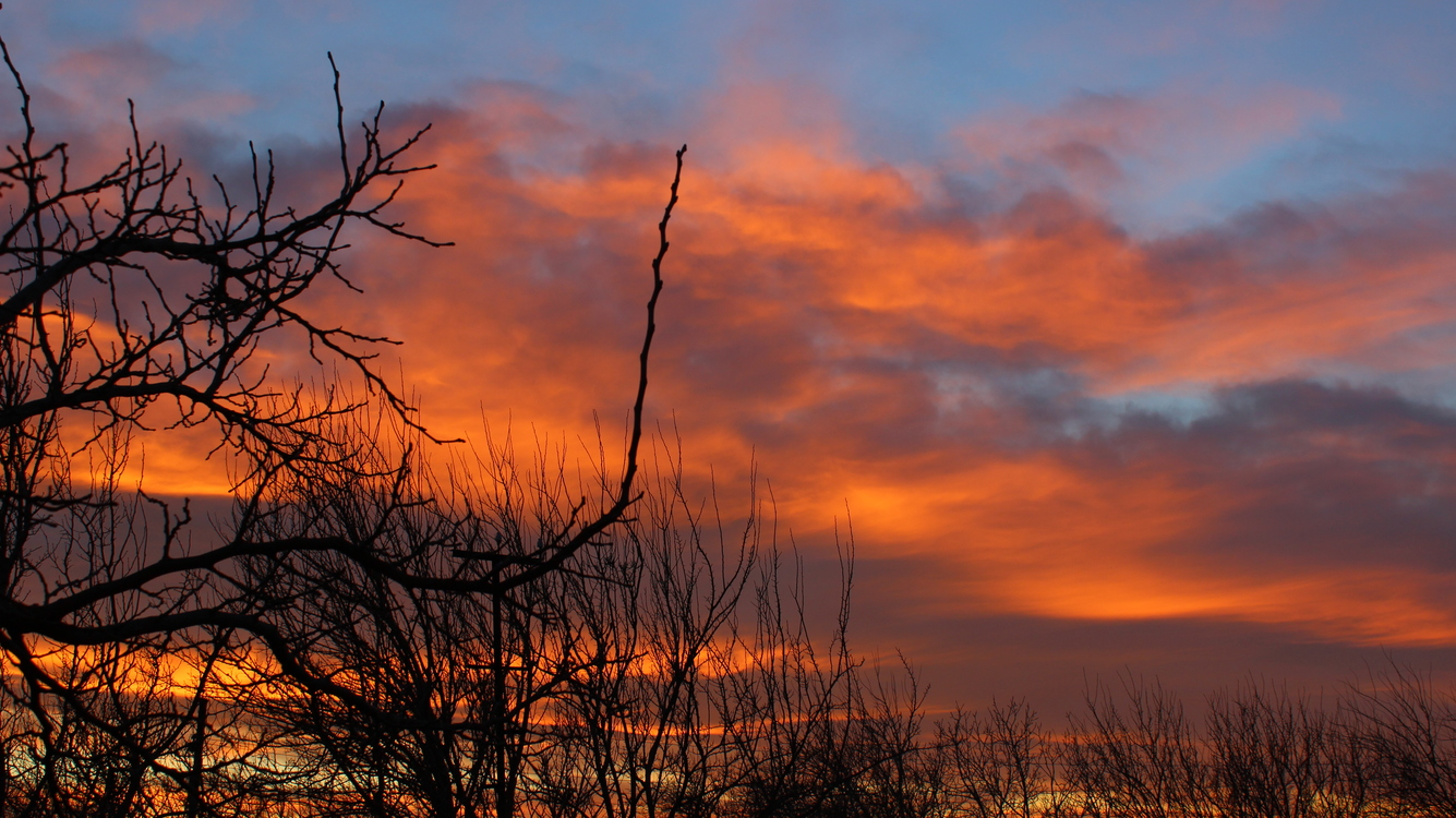 Atmosphere,Red Sky At Morning,Dawn