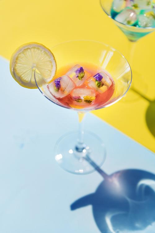 Non Alcoholic Beverage,Lemonade,Cosmopolitan