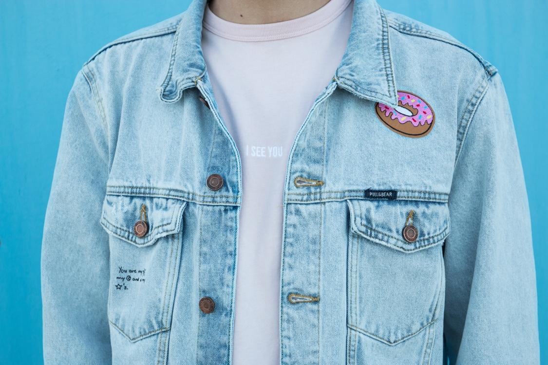 Blue,Jacket,Outerwear