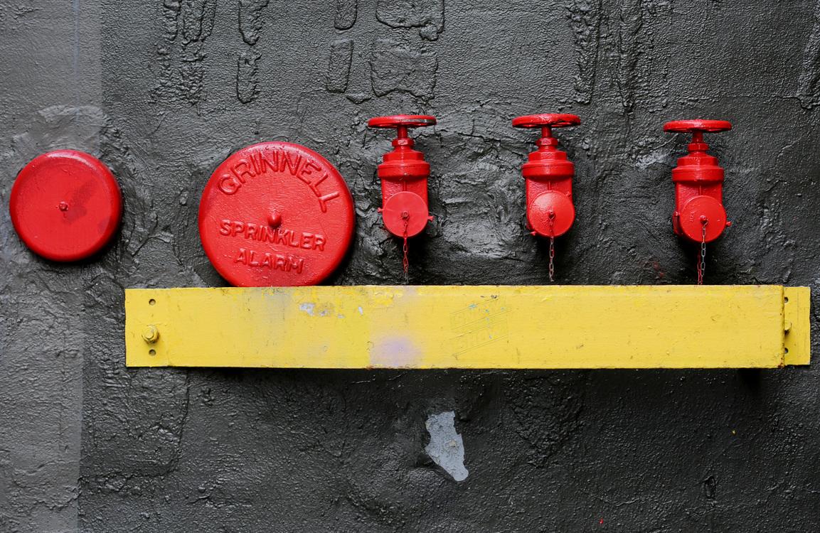 Asphalt,Fire Hydrant,Yellow