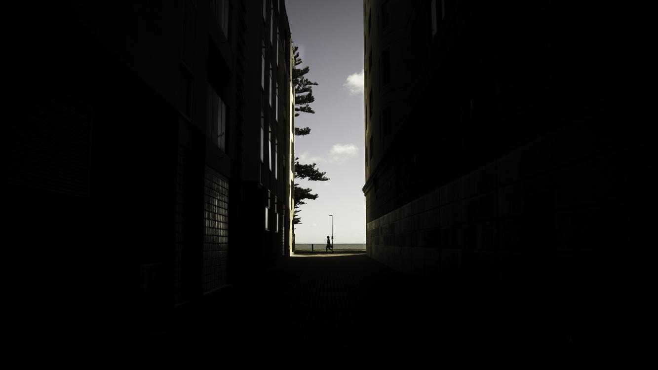 Black Architecture Sunlight White Silhouette