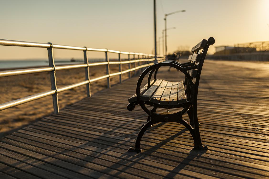 Evening,Reflection,Handrail