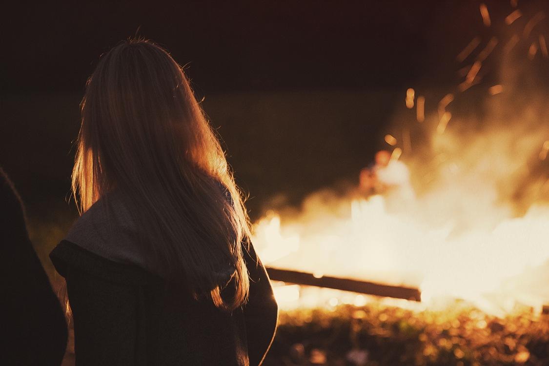 Evening,Darkness,Fire
