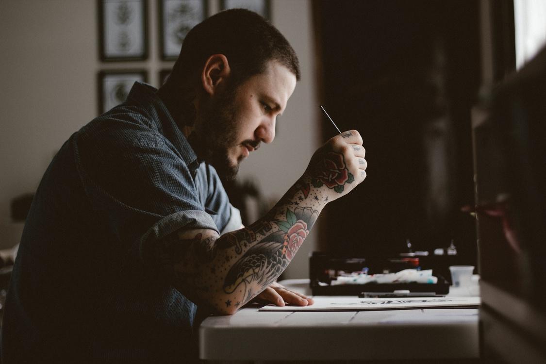 Starving artist Creativity Tattoo