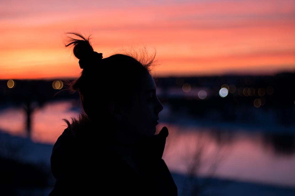 Evening,Silhouette,Darkness