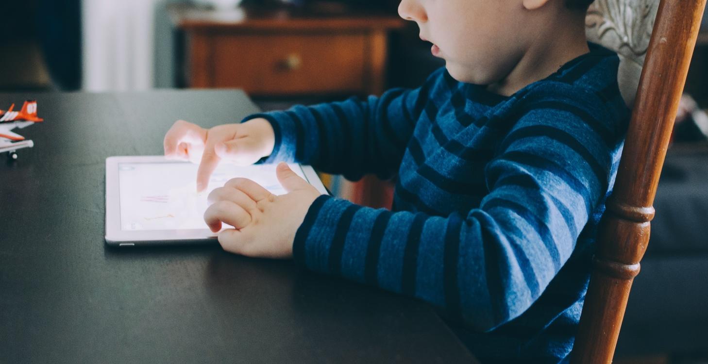 Computer Monitors iPad Child Laptop