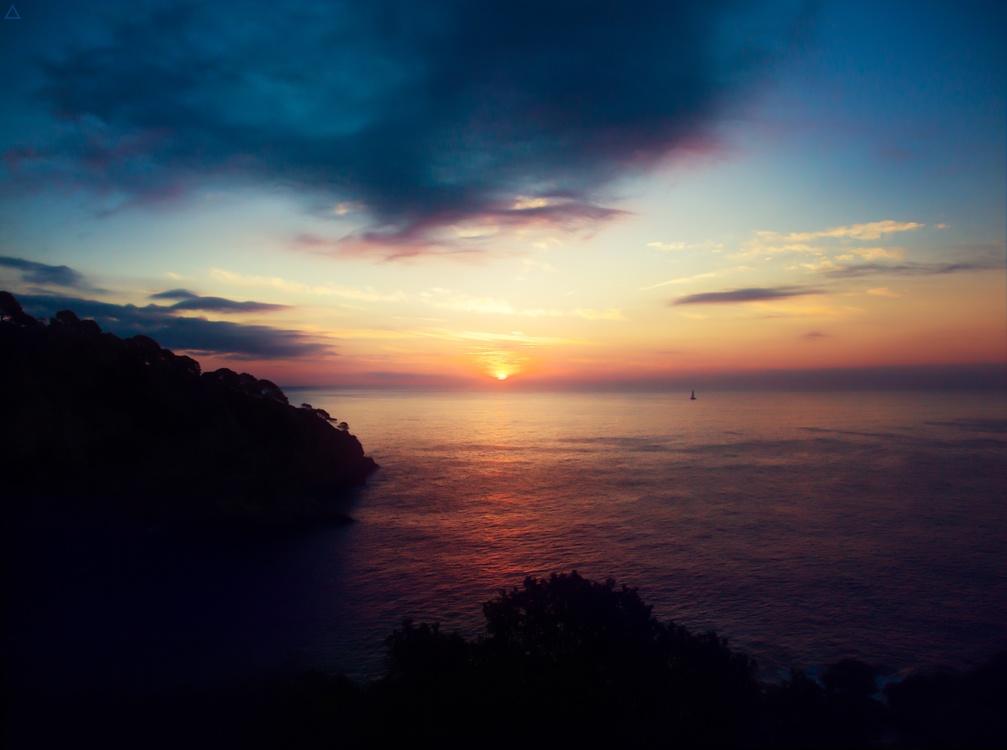 Atmosphere,Evening,Sea
