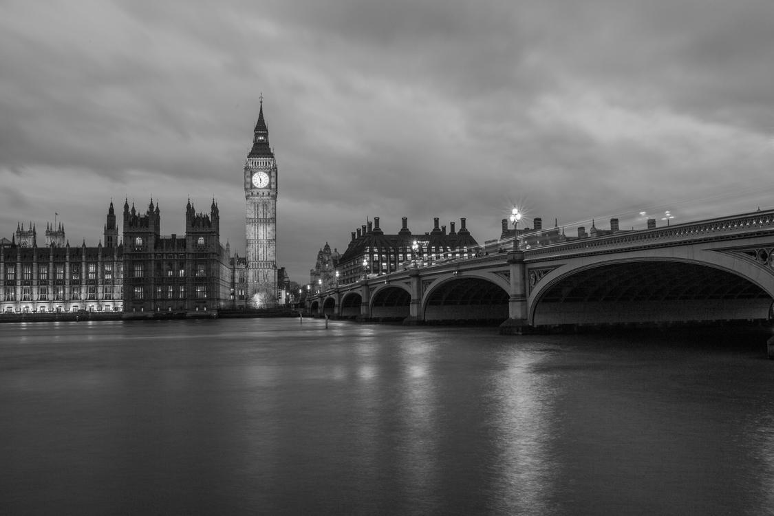 Bridge,Monochrome Photography,Metropolitan Area