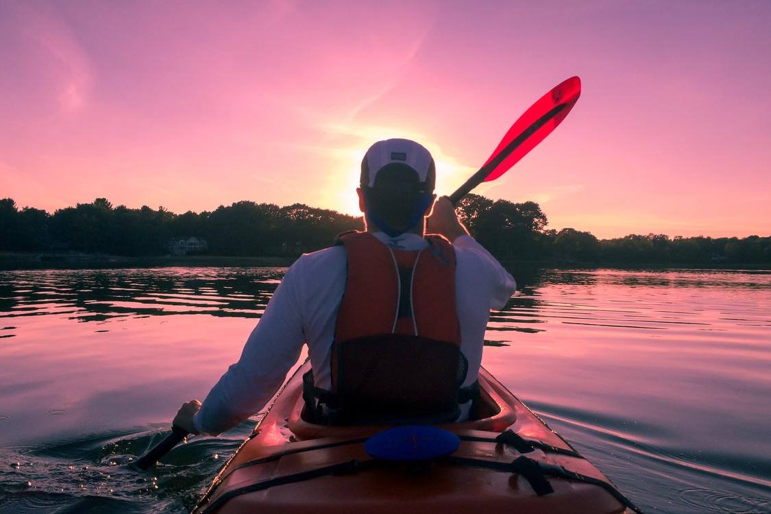 Vacation,Kayak,Sunrise
