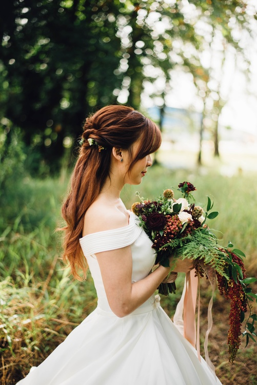 Gown,Hairstyle,Hair
