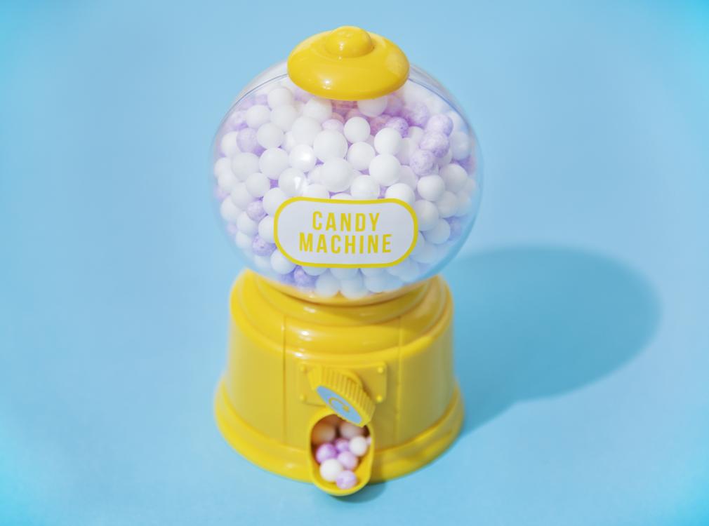 Yellow,Plastic,Chewing Gum