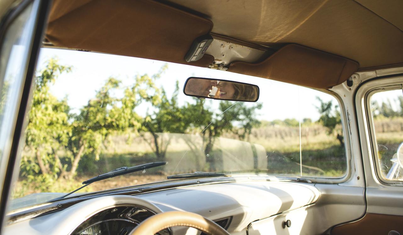 Family Car,Classic Car,Rear View Mirror