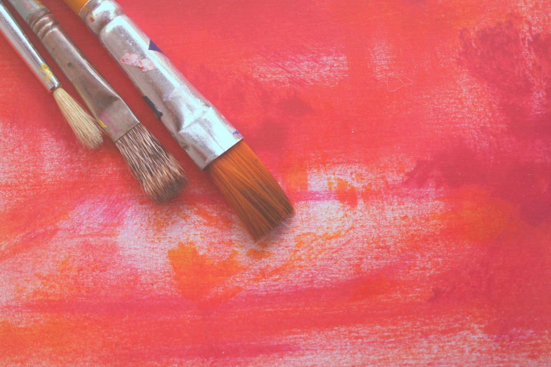 Acrylic Paint,Red,Painting