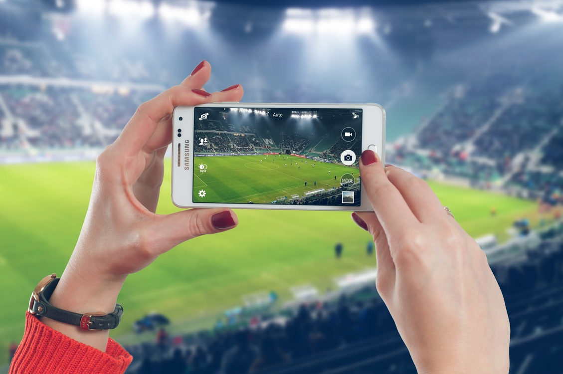 Football Apps Smartphone Sport Stadium