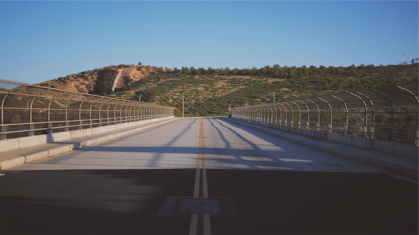 Bridge,Overpass,Lane