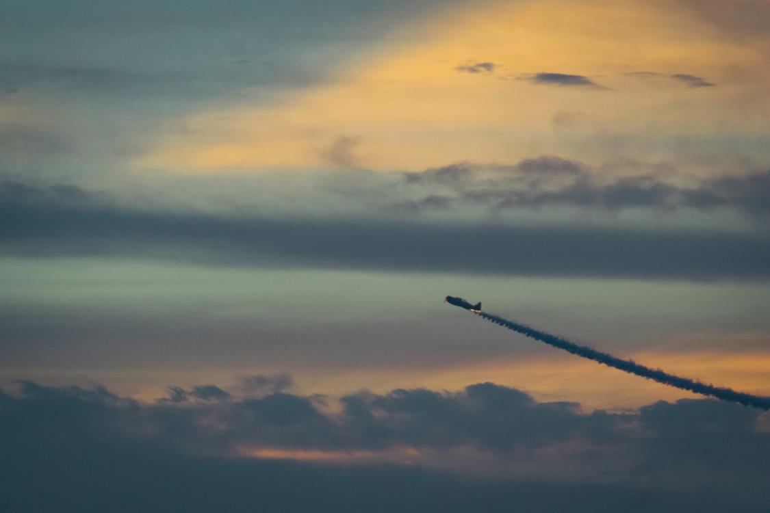 Atmosphere,Evening,Flight