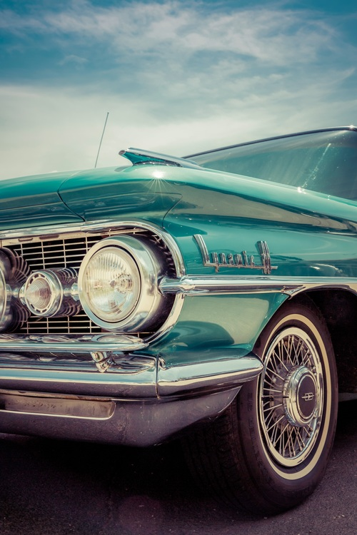 Wheel,Classic Car,Cadillac