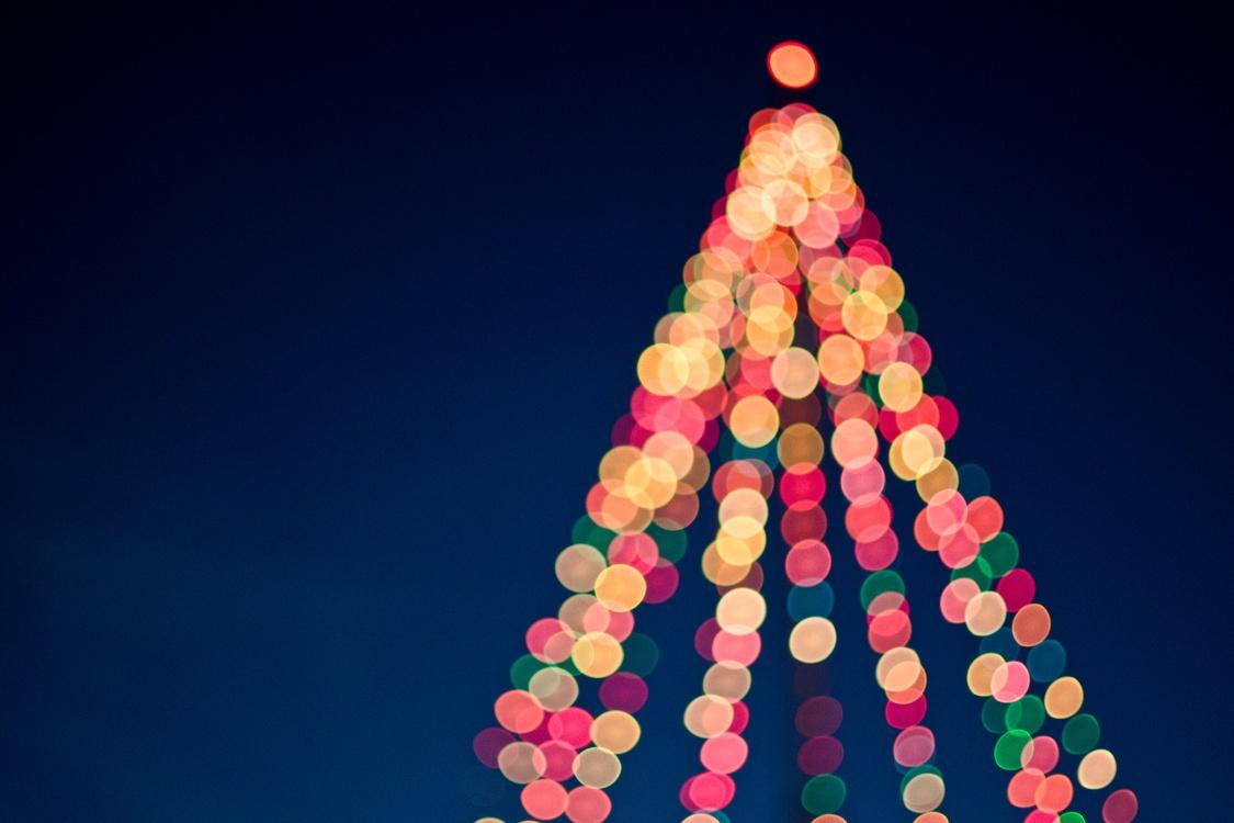 Christmas Decoration,Christmas Lights,Sky