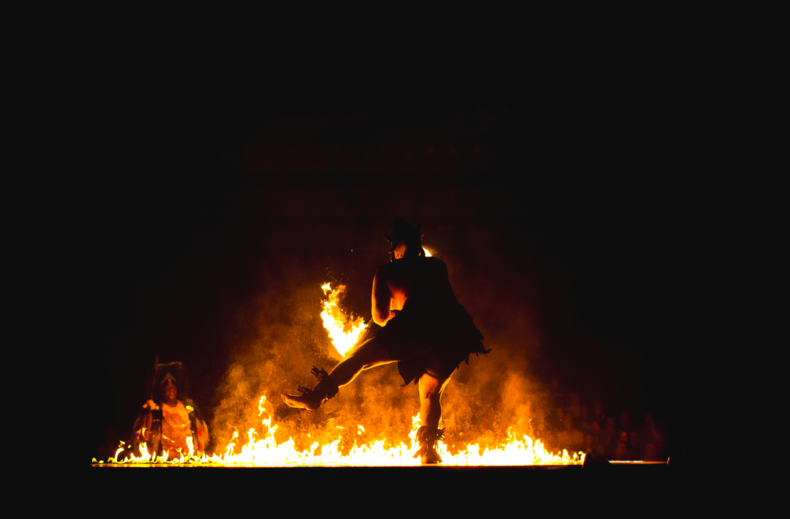 Darkness,Fire,Heat