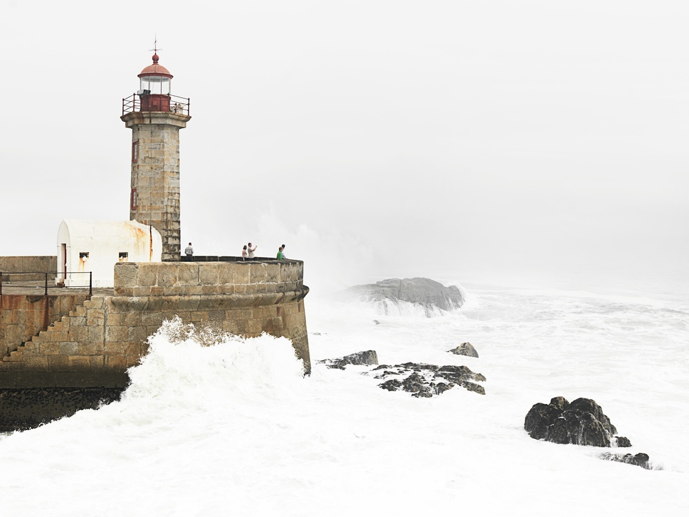 Lighthouse,Winter,Beacon