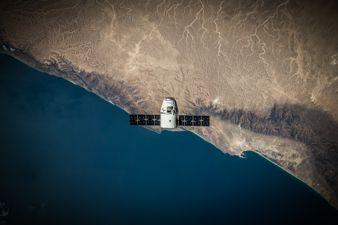 SpaceX Dragon Spacecraft Outer space Space exploration CC0