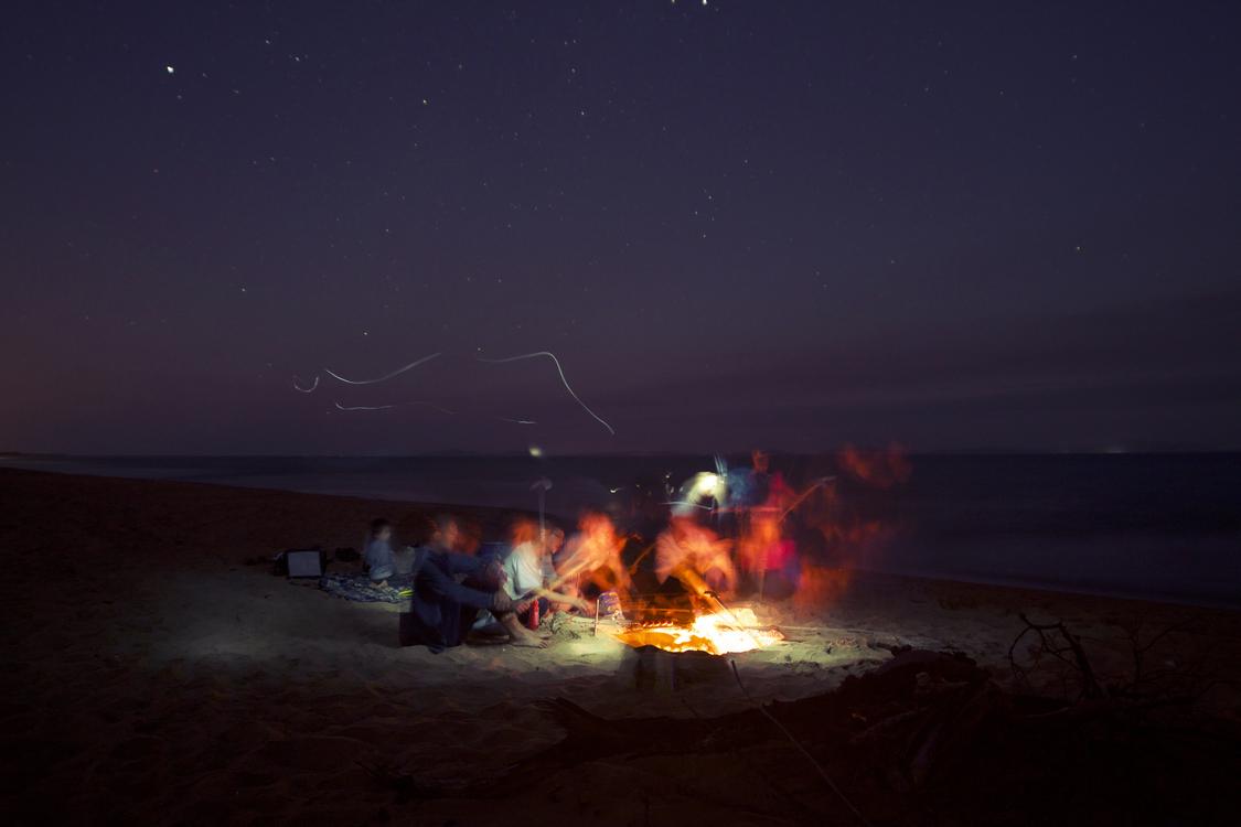 Hotel Campfire British Virgin Islands Party Bonfire