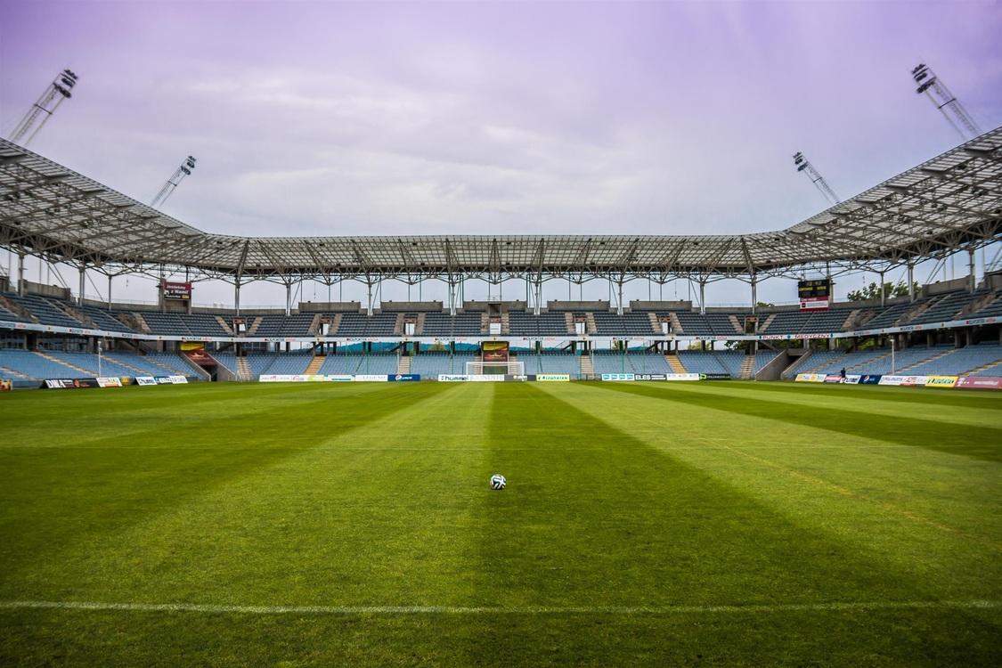 Athletics field Stadium Football pitch Football player
