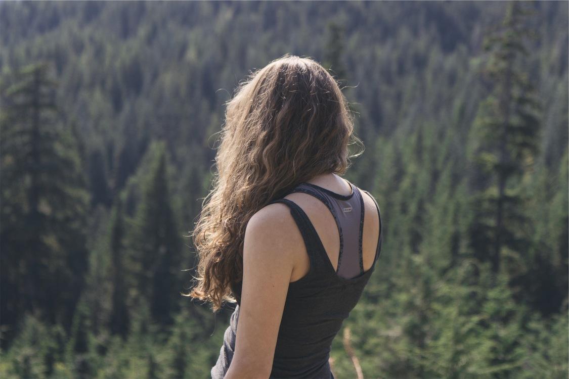 Walking,Wilderness,Girl