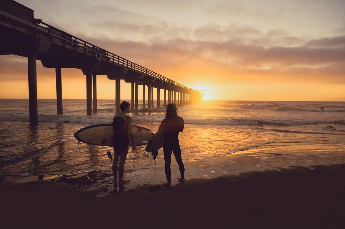 Evening,Coast,Horizon