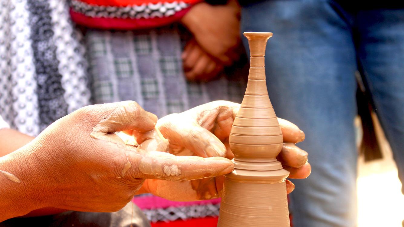 Ceramic Handicraft Pottery Bowl