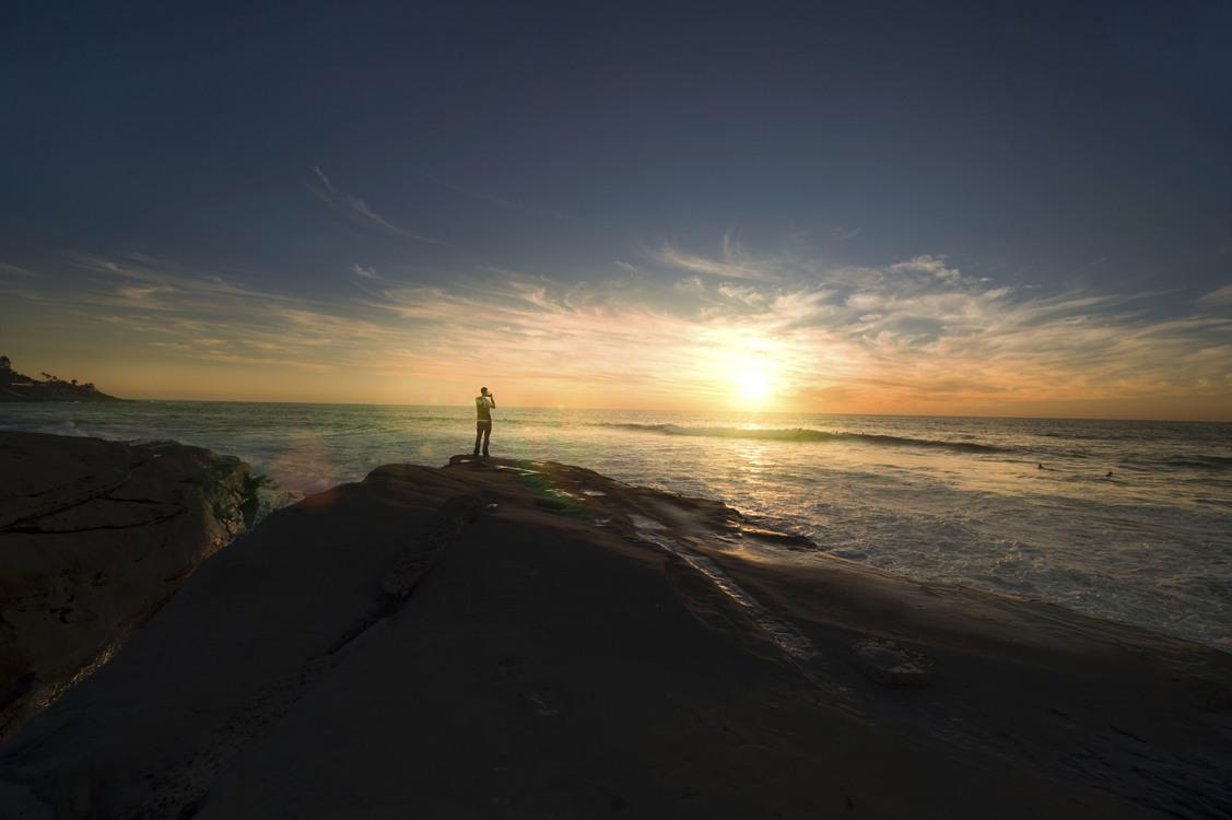 Evening,Horizon,Cape