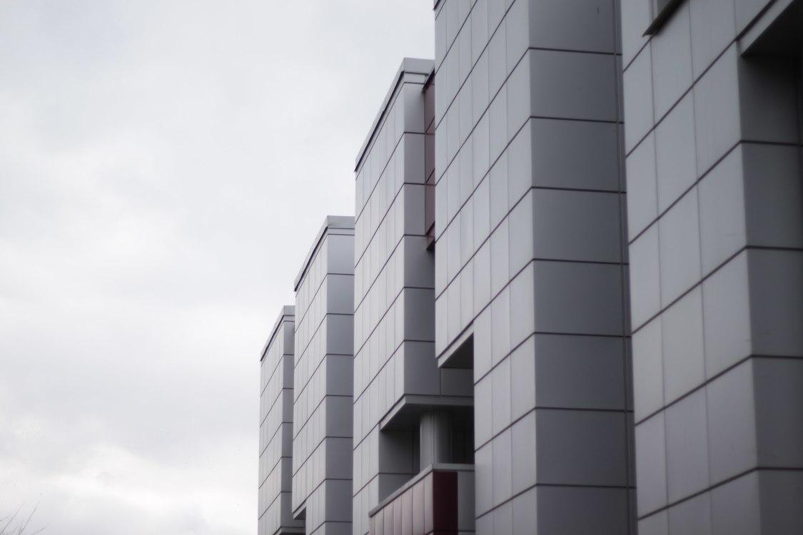 White Aluminium Panel : Facade building composite material aluminium sandwich panel free